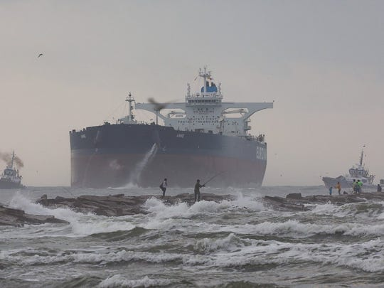 A massive crude carrier called the Anne is making a