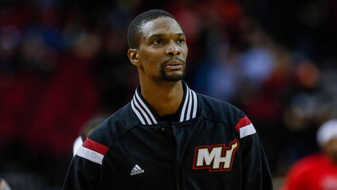 Chris Bosh hasn't been able to play in an NBA game since February 2016.