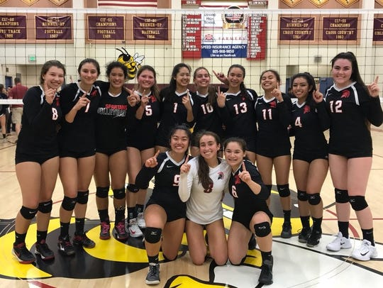 Rio Mesa won its first Pacific View League title in girls volleyball last season.