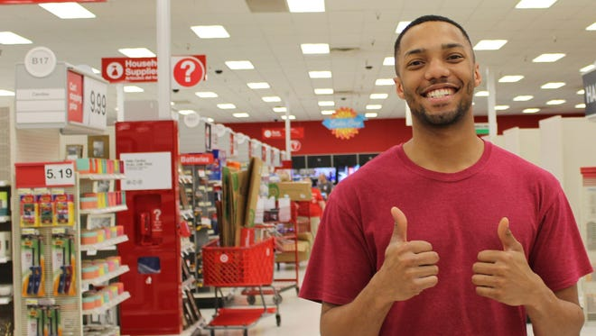 Maurice Reed, a finalist in the 2017 Abilene Idol contest Saturday night, has gained social media fame after he was recorded singing at work at Target.