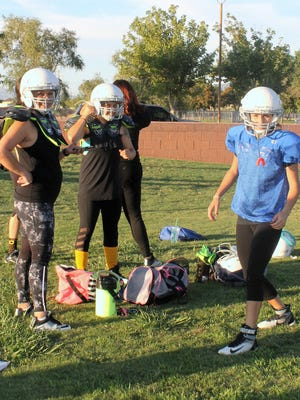 The Las Cruces Coyotes, New Mexico's first all-female full contact football team, will hold tryouts for the 2017 season from 5 to 7 p.m. Sunday at Oñate High School's practice field.