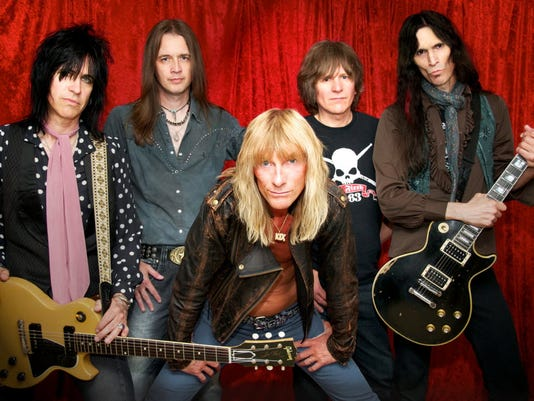 The  80s hair band KIX ends its York area gig drought tonight at White Rose Thunder at The York Expo Center.
