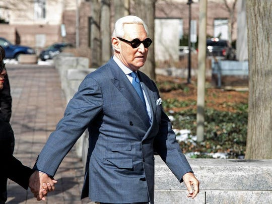 Roger Stone Returns To Court After Violating Gag Order From Judge