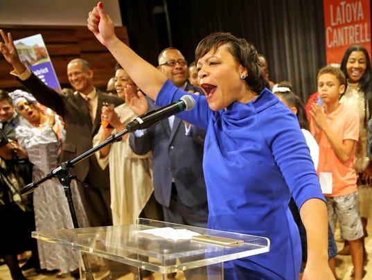AP NEW ORLEANS MAYOR ELECTION A ELN USA LA
