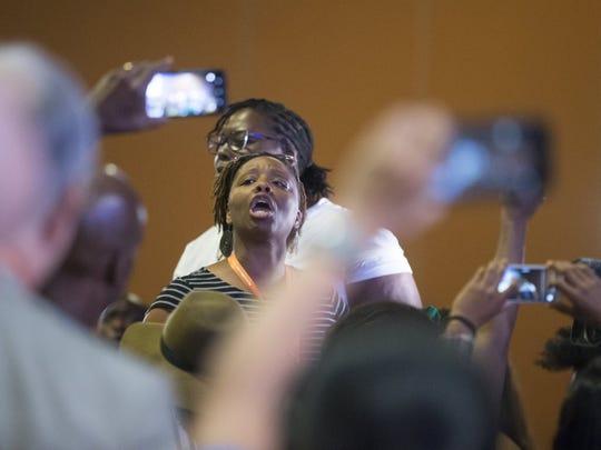 Patrisse Cullors, co-founder of Black Lives Matter,