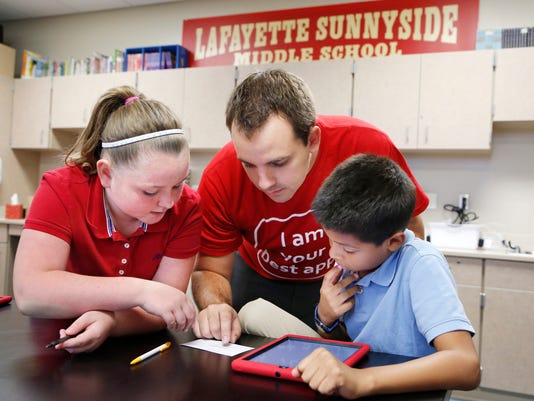 LAF Sunnyside iPads