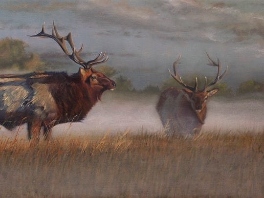 """Michael Wilson's """"Spirit of Place"""" art show opens with a preview Friday night at the Neal Smith Wildlife Refuge."""