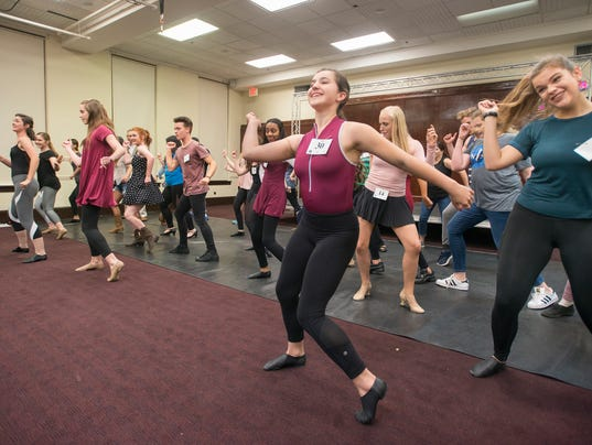 Footloose musical auditions