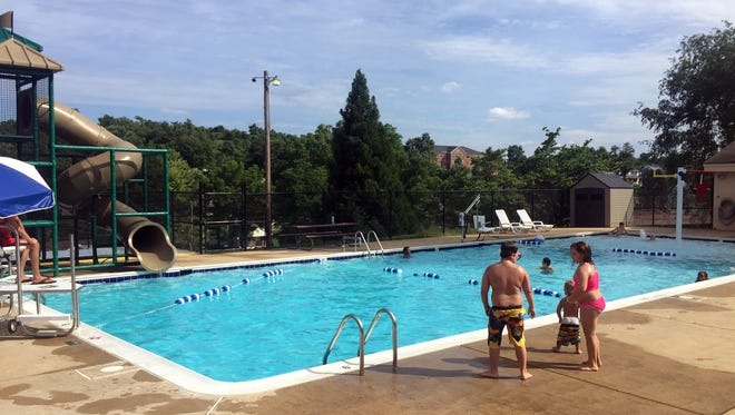 The community pools atMontgomery Hall Park (above) and Gypsy Hill Park will be open for the next two weekends (Aug. 11-12, and Aug. 18-19), then will close for the season.