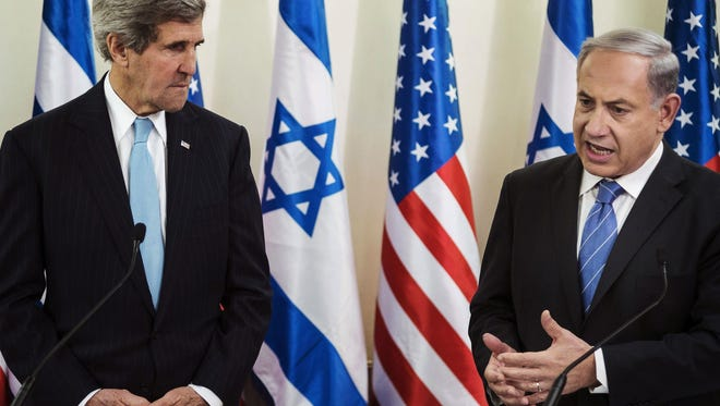 John Kerry's speech on settling the Israeli-Palestinian conflict was as long-winded as it was pointless.