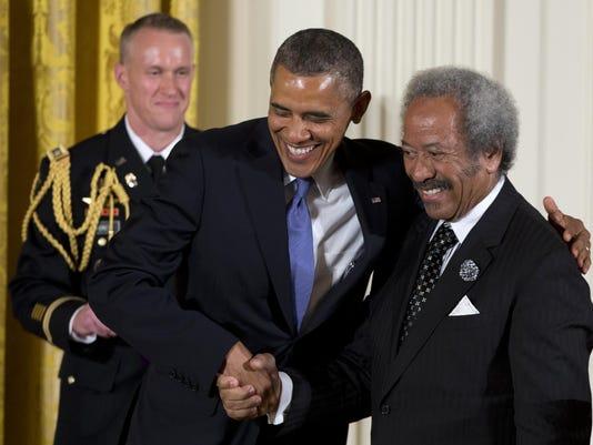 Barack Obama, Allen Toussaint