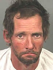 Booking photo of Michael Curtis, 38, who was injured