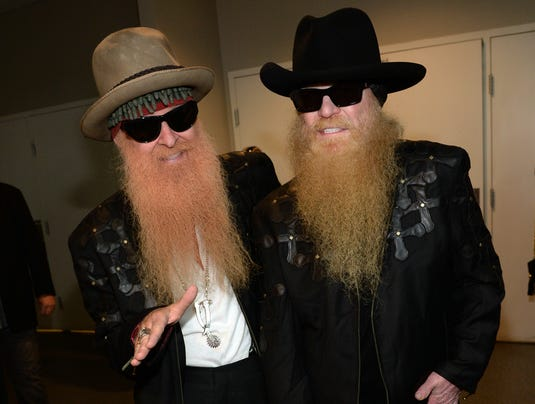 Billy Gibbons and Dusty Hill of ZZ Top