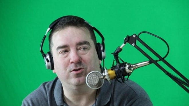 The District Attorney's office has dropped criminal rape charges against radio personality Mike Herren, seen here in this Herald News file photo in a broadcast studio he opened in the former Billy's Café.