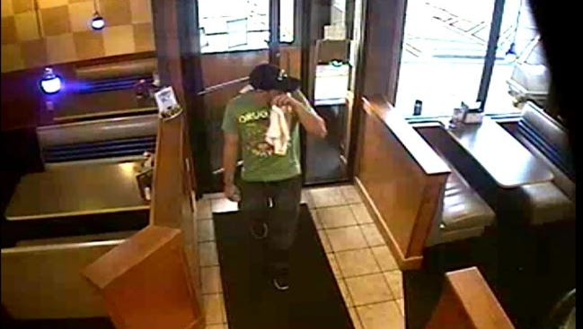 Erlanger Police are looking for this man, believed to be a serial robber in NKY.
