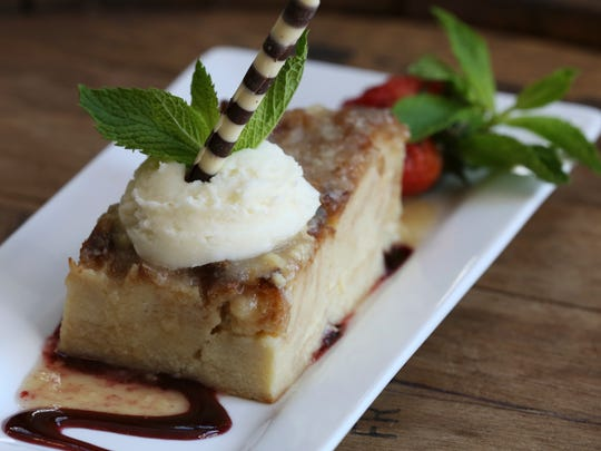 The Bread Pudding served at the Derby Cafe.Apr. 12, 2016