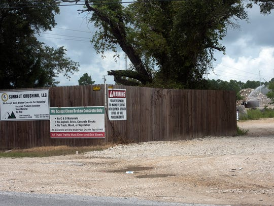 Escambia County commissioners have delayed a vote on whether to renew the recycling permit of Sunbelt Crushing LLC. The business operates in an area where landfills and borrow pits have historically caused health problems for residents, and commissioners rescheduled the vote so county staff can see if additional safety measures are needed.