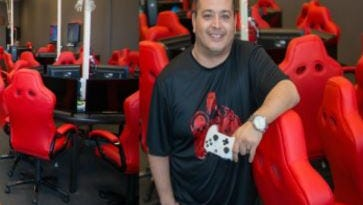 Richard Cabeza De Baca owns Gamers Dungeon on the East Side.