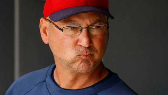 Terry Francona is in his first season as manager of the Indians.