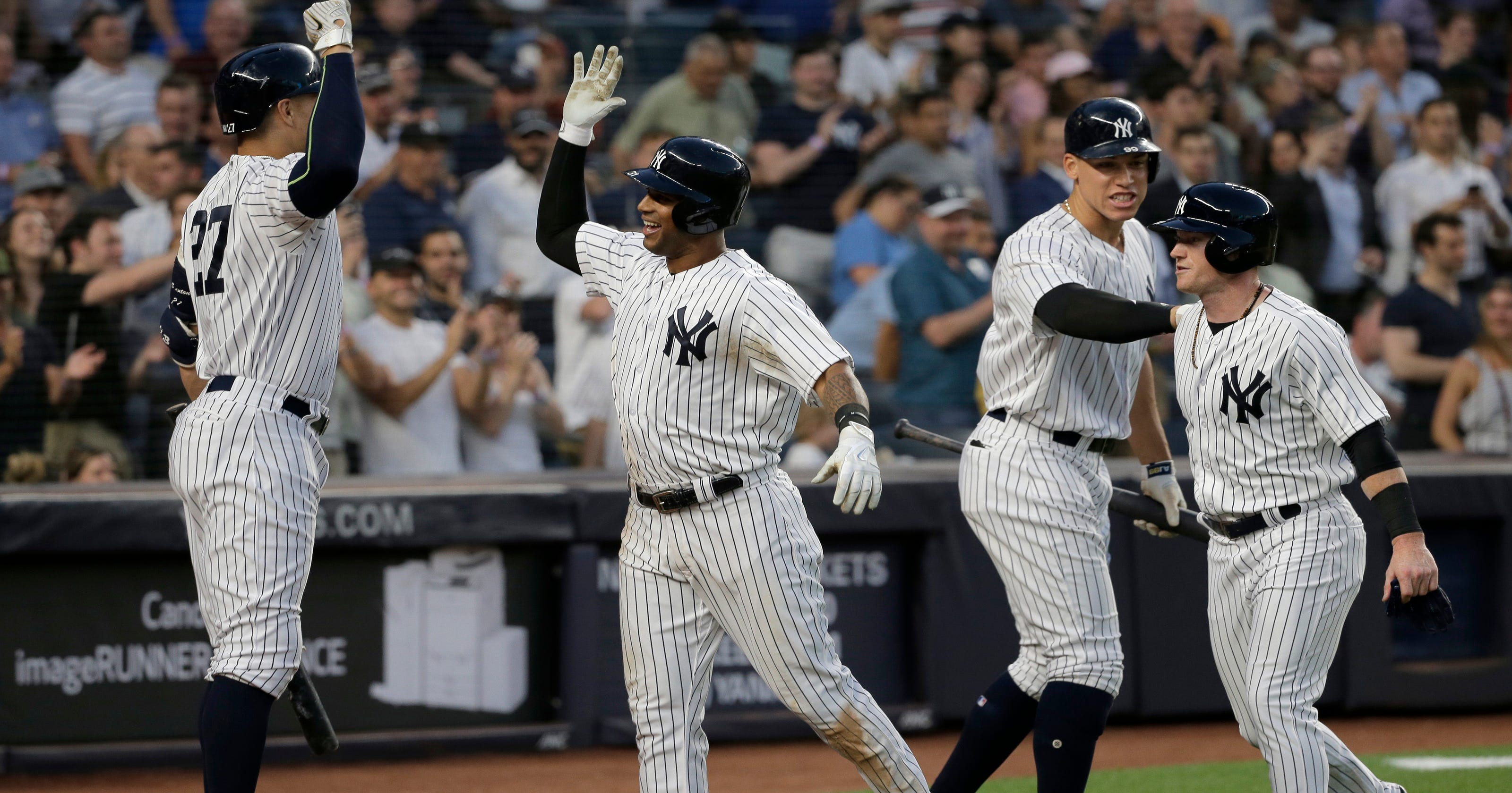 f5a1e0e315c Sizing up New York Yankees  chances against American League pennant  contenders