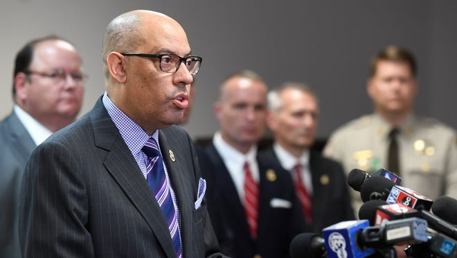 "TBI Director Mark Gwyn said he would use a state report to ""make a stronger TBI."""