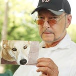 """David Grimm, author of """"Citizen Canine,"""" a book that traces the legal status of animals over centuries.   Photo by H. Darr Beiser, USA TODAY Staff"""