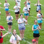 The first day of the 2015 Music for All camp on Ball State University's campus.
