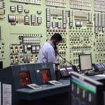 A view inside the control room at the Indian Point nuclear power plant in Buchanan Jan. 27.