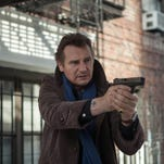 "Liam Neeson in ""A Walk Among the Tombstones."""