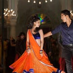 """Tina Desai and Dev Patel appear in a scene from """"The Second Best Exotic Marigold Hotel."""""""