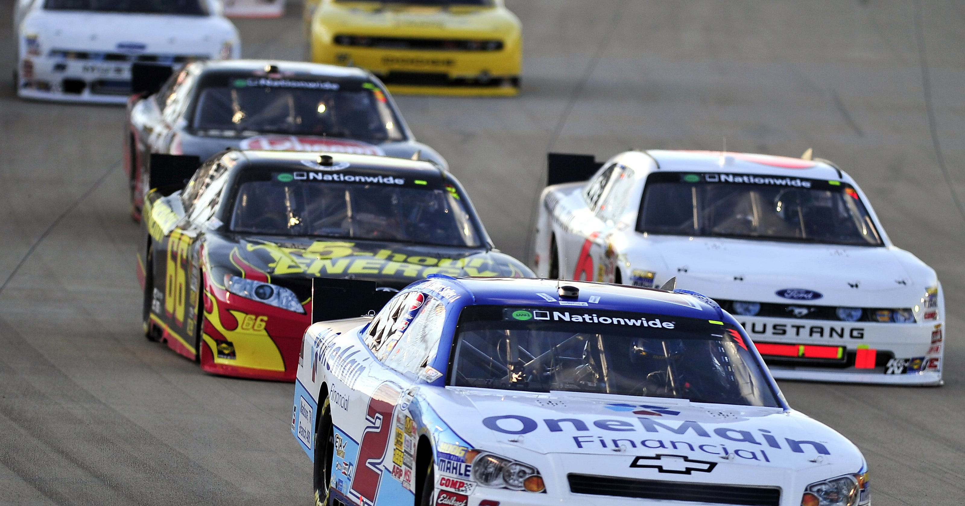 A look at the last NASCAR, IndyCar races at Nashville Superspeedway