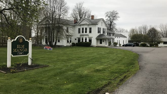 The majority of the deaths due to COVID-19 in Ontario County -- a total of 33 as of Monday -- were at either Elm Manor Nursing and Rehabilitation home in Canandaigua (pictured) or Ontario Center for Rehabilitation and Nursing in Hopewell.