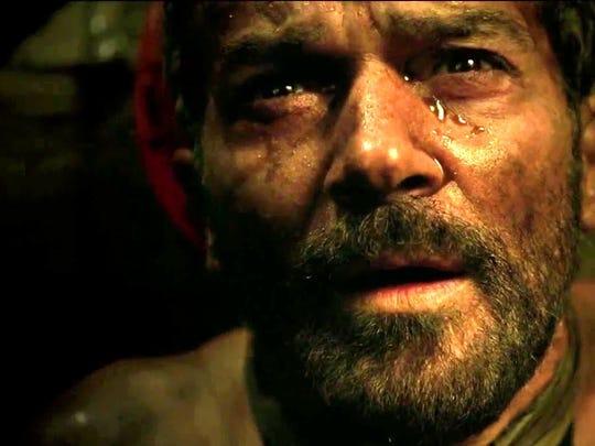 """Antonio Banderas plays Chilean miner Mario Sepúlveda in the new film """"The 33"""""""