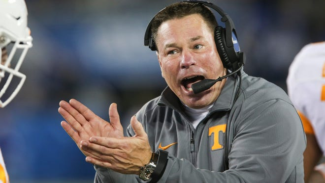 Tennessee coach Butch Jones said he had hoped that the temperatures in Knoxville this week would mirror the conditions called for this weekend in Columbia, Mo. The weather didn't cooperate, however,