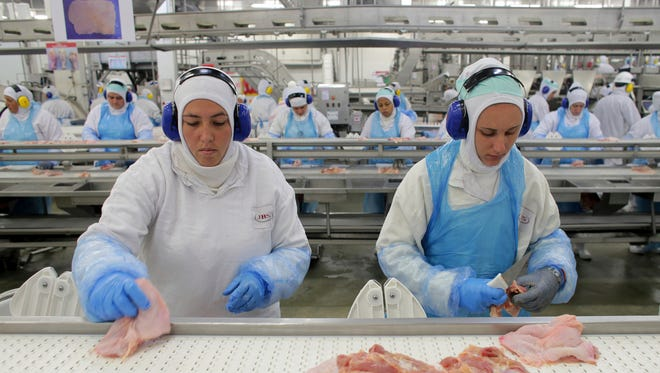 An OSHA complaint filed by the union at a meatpacking plant in Oklahoma says the company did not report coronavirus cases to federal authorities and also failed to implement worker protections, such as social distancing measures.