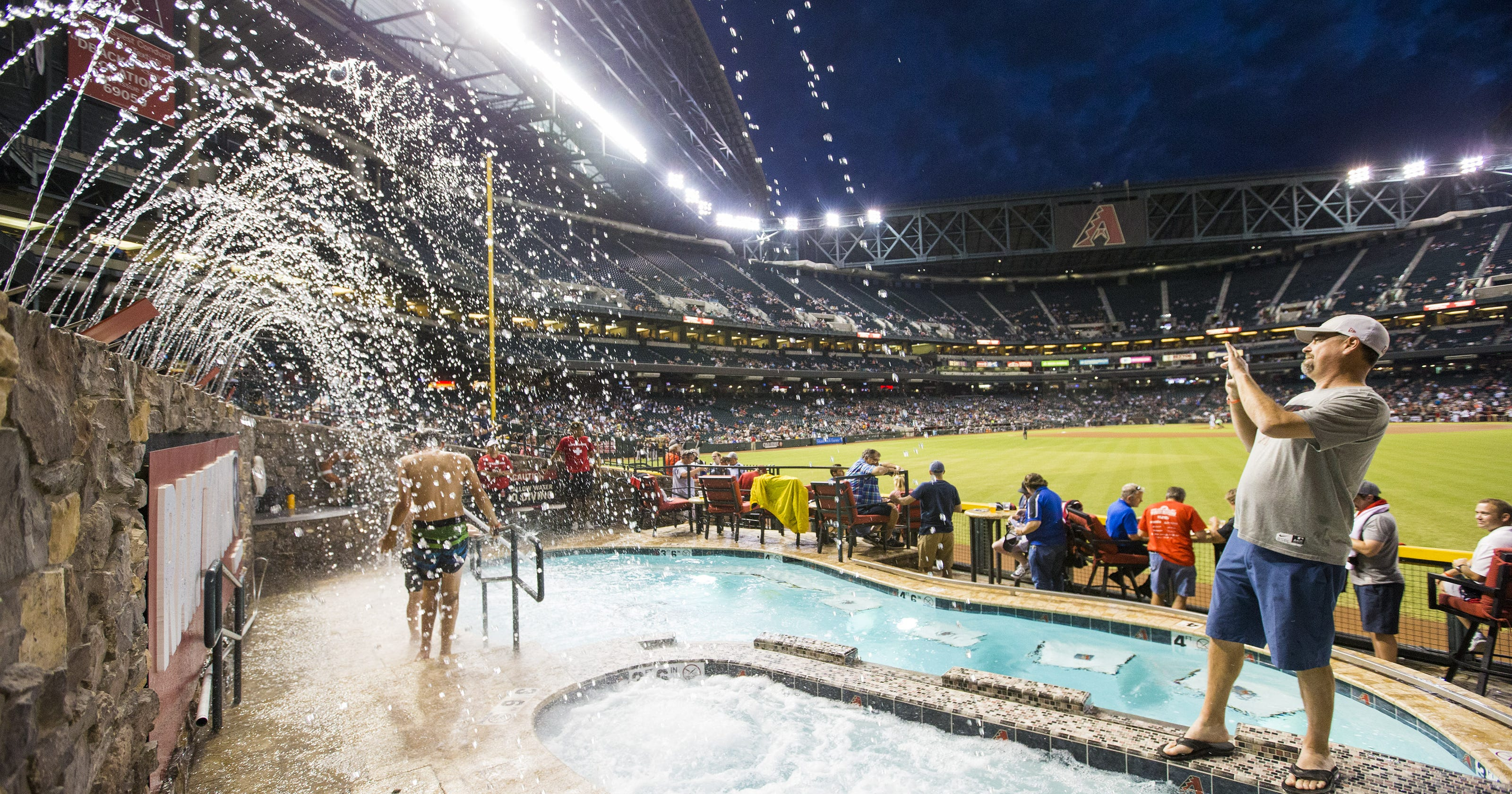 Chase Field Pool Started As A Joke But Arizona D Backs