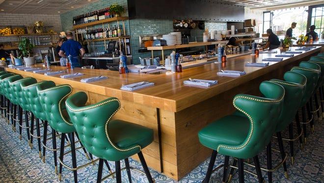 Interior of Doughbird, a Sam Fox concept restaurant in Phoenix October 30, 2017.