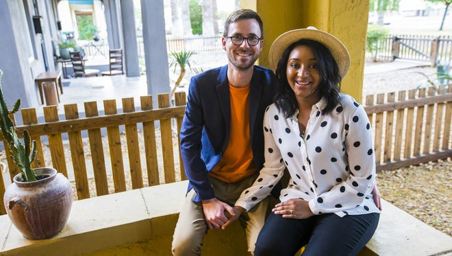 Benjamin Hughes and Aysia Williams bought their neighbor's house after renting in the 85007 ZIP code, where sales climbed 20 percent last year.