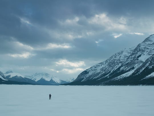 """A scene from the film, """"The Revenant."""""""