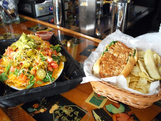 Visitors and pilots at the Delaware Coastal Airport in Georgetown can grab a bite to eat at Arena's At the Airport. Nachos and chicken cheesestakes are two of the more popular items served at the eatery, which has six other locations in the state.