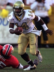 Former Georgia Tech star Joe Hamilton, one of the most prolific players in ACC history, is in the College Football Hall of Fame.