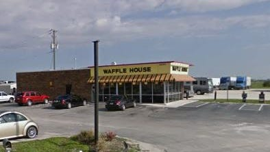 This Waffle House in Punta Gorda was robbed Monday morning.