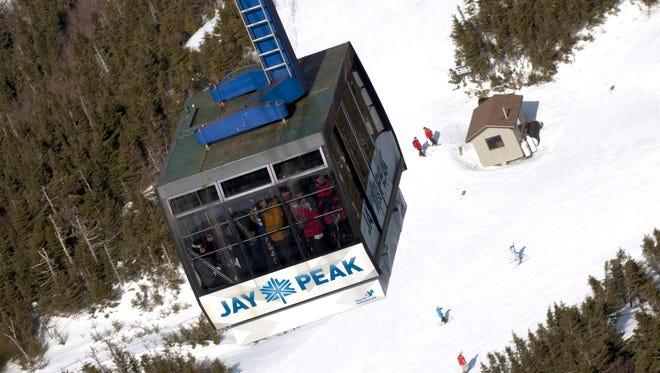 Jay Peak's tram shown here in 2015.