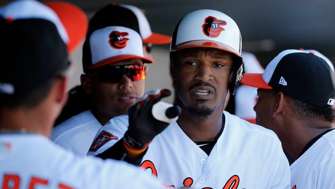 Orioles outfielder Adam Jones says he has been subject to racist taunts many times throughout his career.