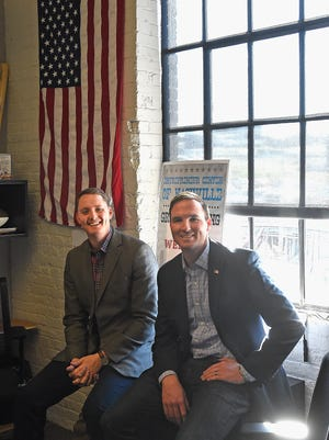 Daniel Berry and Blake Hogan are co-founders of Bunker Labs Nashville, which launches in April and is working with the Nashville Veteran Entrepreneur Society to help veterans develop business ideas.