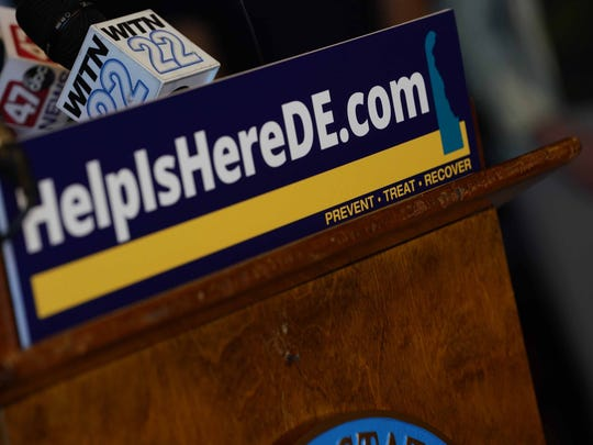The state has aggregated addiction resources online at HelpIsHereDE.com.