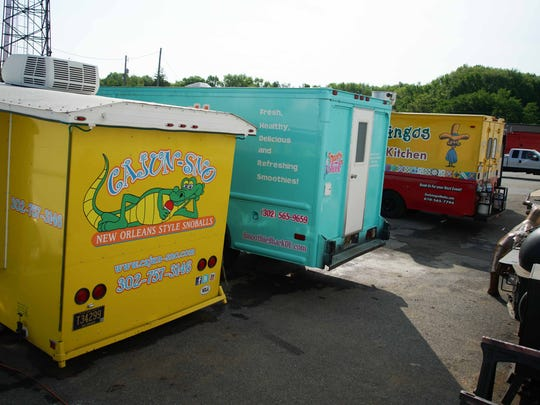 John Berl built his own Uncle John's BBQ food truck, but he also builds  and repairs custom concession trucks for others in Delaware at his Custom Concessions shop in New Castle.