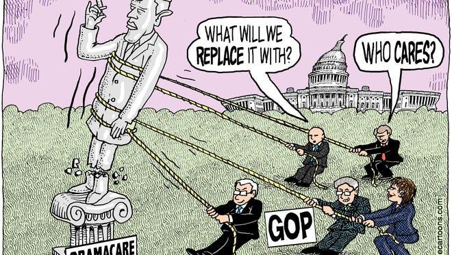 Toppling Obamacare
