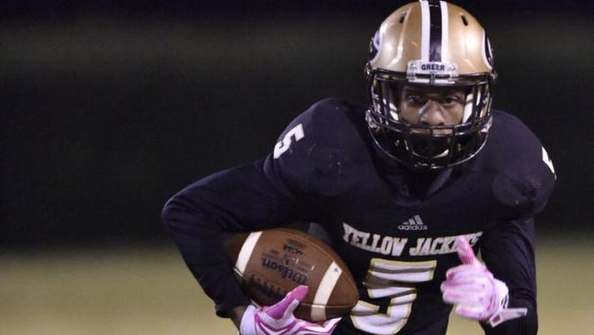 Greer High senior defensive back Troy Pride has committed to play college football at the University of Notre Dame.