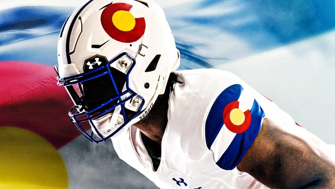 "Colorado State unveiled new ""state-pride"" uniforms Sept. 21 from Under Armour that the Rams will wear for their Nov. 11 home game against Boise State."